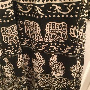 Dresses & Skirts - Wrap around cotton skirt